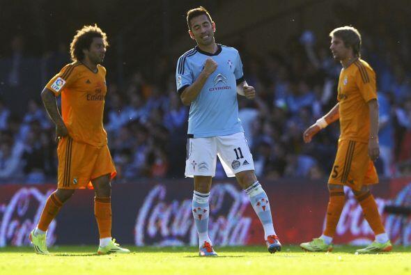 Charles colocaba el 1-0 en favor del Celta y el Real Madrid seguí...