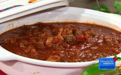 Receta de Chili con carne al estilo Chef Pepín