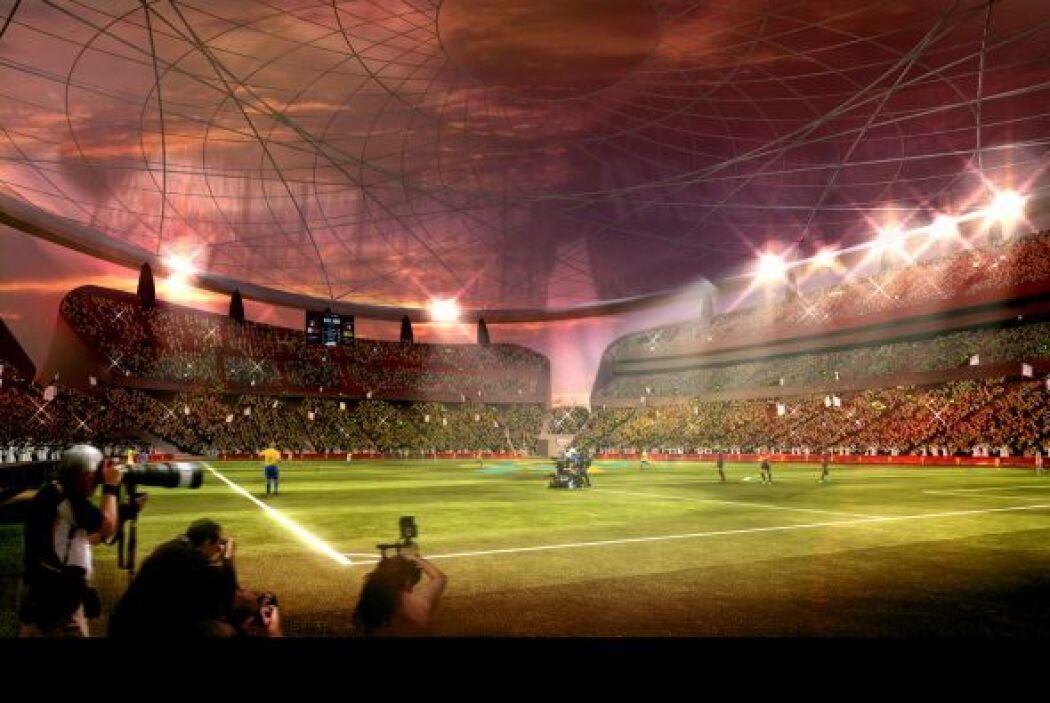 Lusail Iconic Stadium (Al-Daayen) con capacidad para 86.250 espectadores...