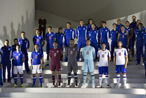 El Cruz Azul se ubica cuarto en el historial de la Primera División con...