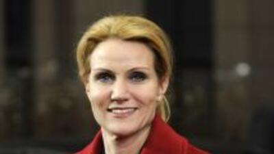 Helle Thorning-Schmidt, primera ministra de Dinamarca, se reunirá con el...