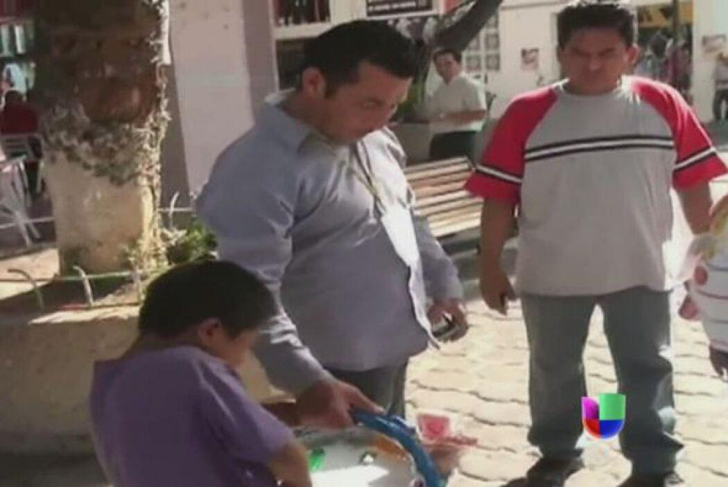En julio un funcionario mexicano causó indignación al humillar a un niño...
