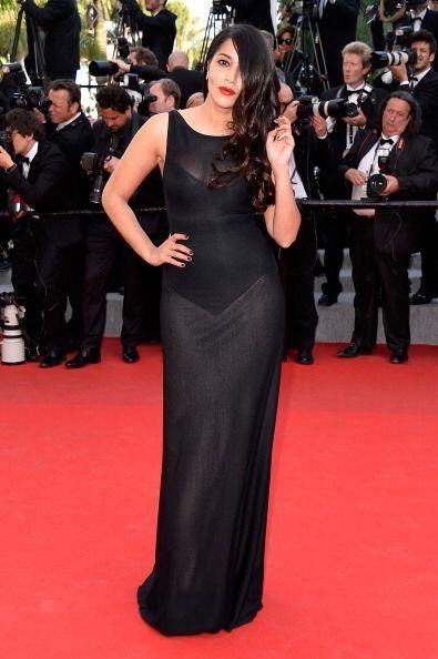 El vestido de Leila Bekhti era lindo; lo que no nos encantó fue s...