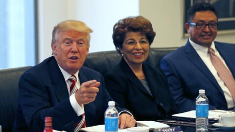 Así Trump dio la bienvenida a sus asesores hispanos