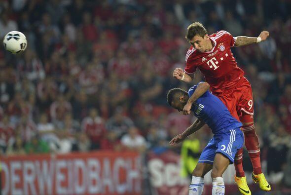 Las oportunidades del Bayern se sucedieron una tras otra en los últimos...