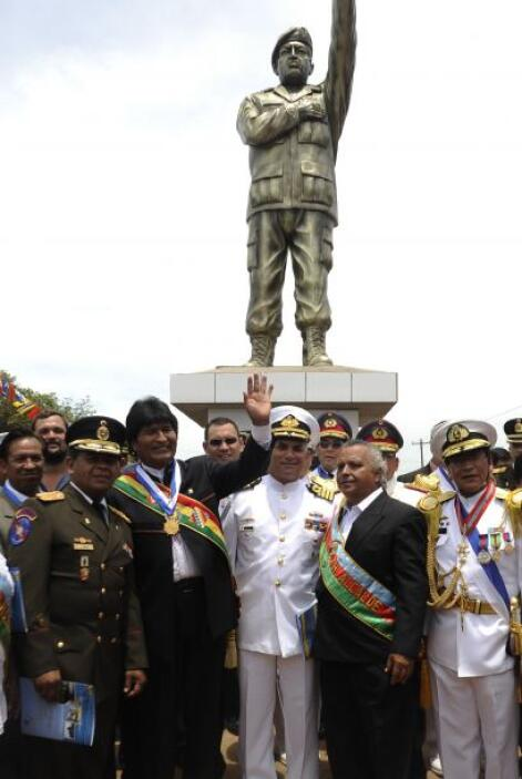 Y no sólo en Venezuela, también en otros países, como es el caso de Boli...
