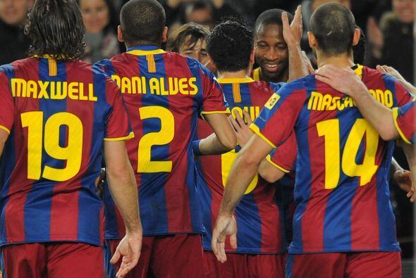 Barcelona consiguió un nuevo triunfo en la Liga y sigue como puntero del...