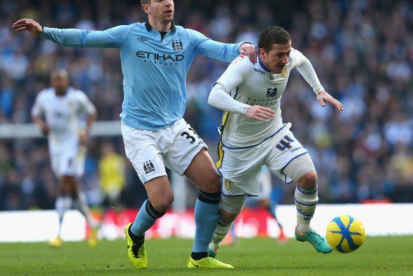 Era tiempo de ver al Manchester City jugando ante el Leeds United.