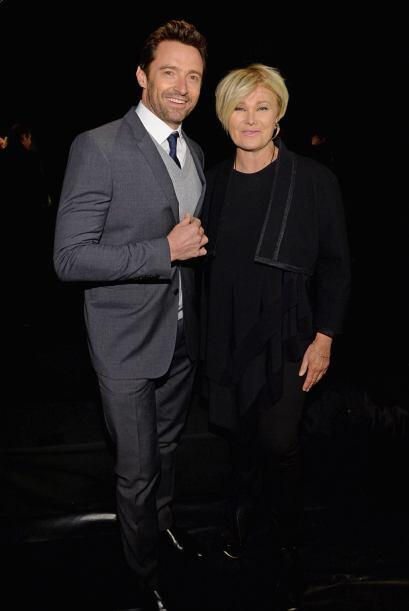 Hugh Jackman y Deborra-Lee Furness posaron de lo más enamorados ante las...