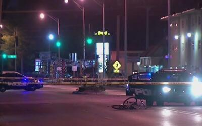 Un ciclista resultó gravemente herido tras arrollado por un vehículo en...