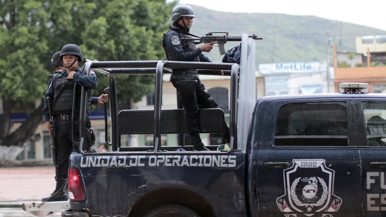 Policía de Guerrero (Imagen de archivo).