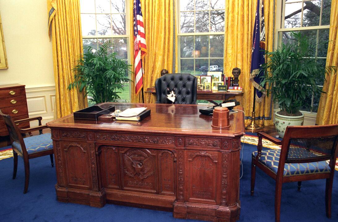 En Fotos Momentos No Tan 39 Solemnes 39 En La Oficina Oval