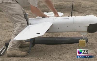 Con drones siguen buscando a Christina Morris