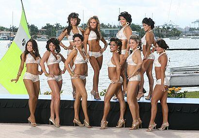 Aquí tienes a las diez finalistas del Señorita República Deportiva 2008.