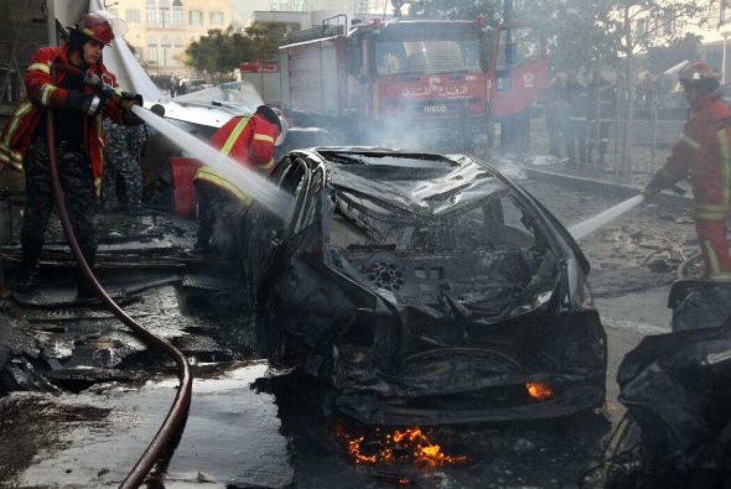 Las primeras pesquisas indican que se trató de un coche bomba, aunque fu...