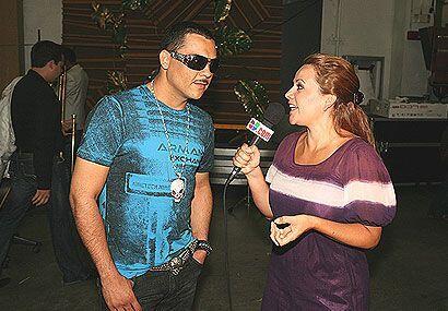 Darey Castro visito Sabado Gigante.