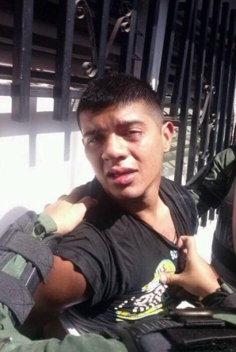 Héctor Mabuel P. publicó en su cuenta de Twitter esta fotografía del arr...