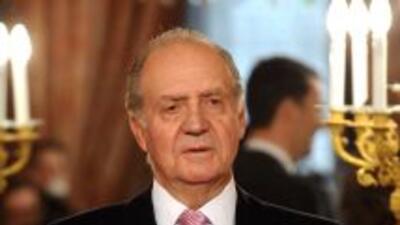 El rey Juan Carlos asiste a la recepción anual de embajadores extranjero...