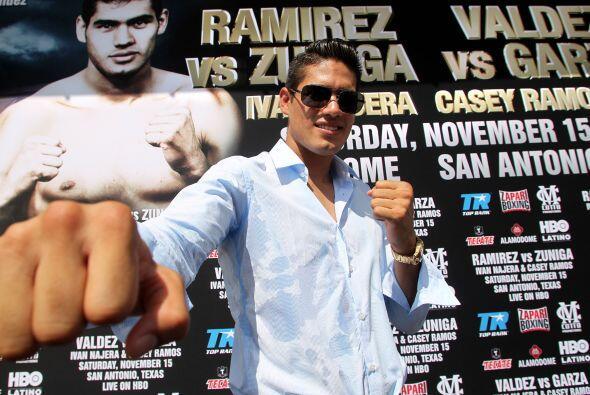 El 'Zurdo' hará frente a Fulgencio Zuñiga.