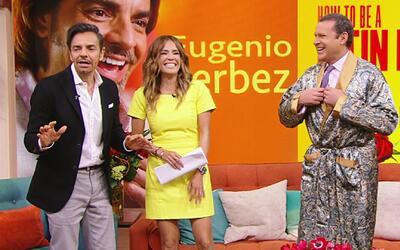 Alan Tacher le demostró a Eugenio Derbez que él también es un latin lover