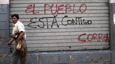 Rebelión en Ecuador