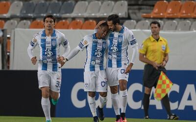 Pachuca inicia con pie derecho en la Liga Campeones de la Concacaf ante...