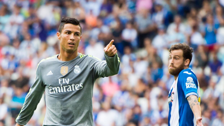 Cristiano Ronaldo le anotó cinco goles al Espanyol.