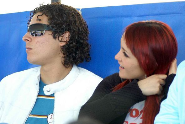 Guillermo Ochoa y Dulce María duraron juntos sólo unos cuantos meses en...
