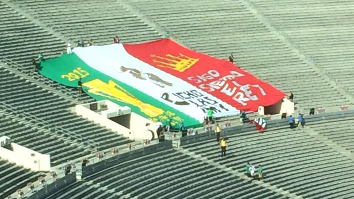 Bandera Mexico Rose Bowl