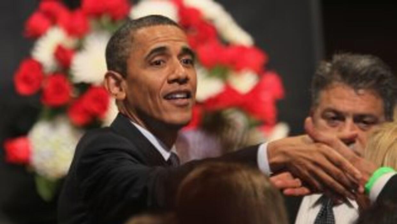 El presidente Barack Obama dijo a los puertorriqueños que está compromet...