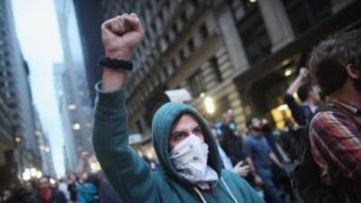 Los manifestantes han dicho que no desocuparán la plaza ocupada.