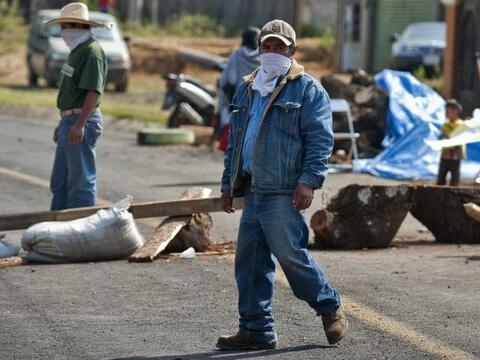 El conflicto en el municipio de Chéran, en Michoacán, se a...