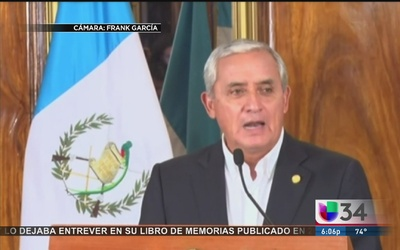 LA reaccionó a renuncia de Pérez Molina