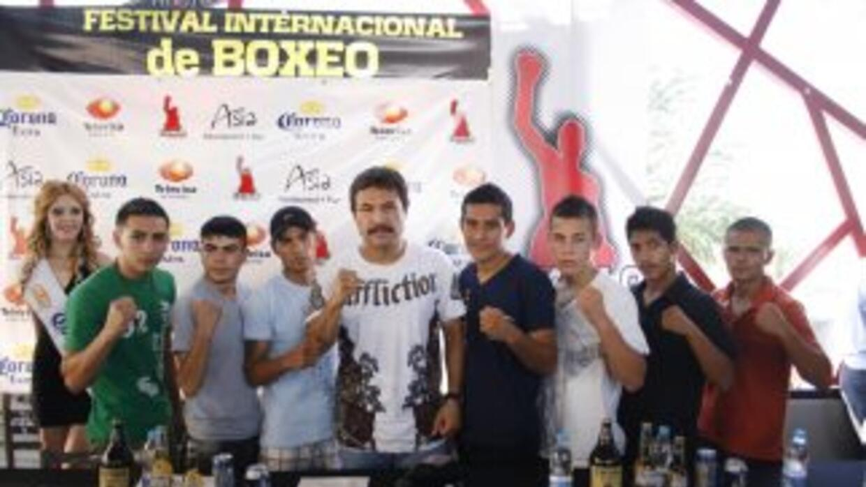 """Luis Ramón """"Yori Boy"""" Campas encabeza función en Navojoa (Foto: Canelo P..."""