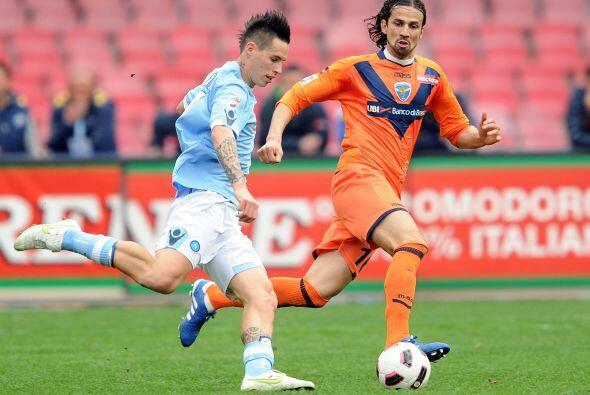 El Napoli necesitaba una victoria que lo devolviera a la pelea por el 'S...