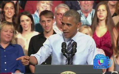 """Que me demanden"", dice Barack Obama"