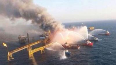 Video exclusivo de explosión en plataforma de Pemex