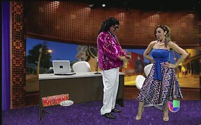 Tony Mayimbe entrevista a Gricel Mamery