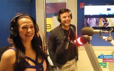 Entrevista de El Bueno, La Mala y El Feo con Ricky Martin