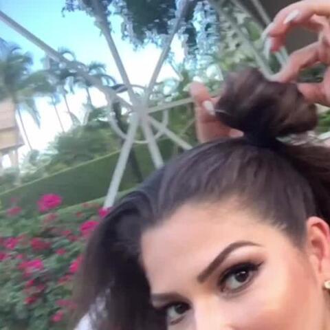 Detrás de cámaras: No fue fácil hacerle este peinado a Ana Patricia con...