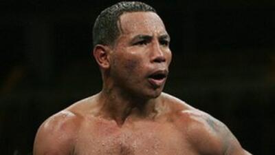 Ricardo Mayorga venció a Andrik Saralegui en cinco rounds (Foto: Twitter).