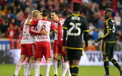 New York Red Bulls vencen a Columbus Crew SC
