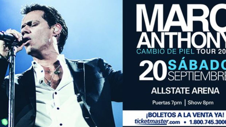 Marc Anthony en Chicago