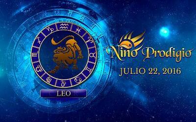 Niño Prodigio – Leo  22 de Julio, 2016