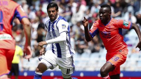 Guillermo Ochoa y el Granada se van al descenso en España, Carlos Vela l...