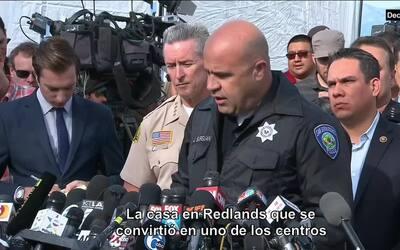 Los sospechosos abatidos tenían un arsenal en una casa