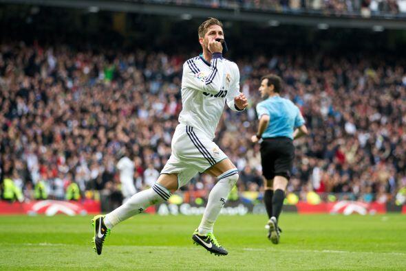 Sergio Ramos y el Bernabéu entero celebraban.