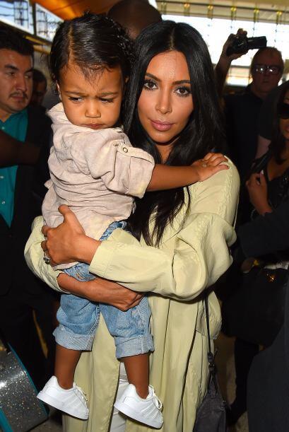 La pequeña Nori no lucía tan contenta.