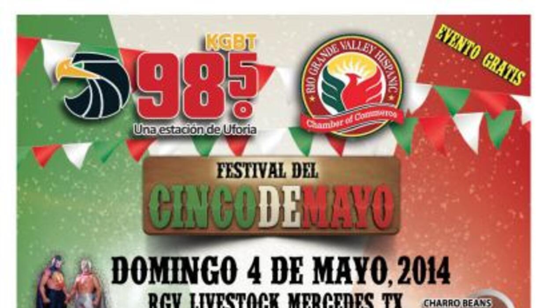 Ya cada vez más cerca EL FESTIVAL DEL CINCO DE MAYO…. Separa la fecha….D...