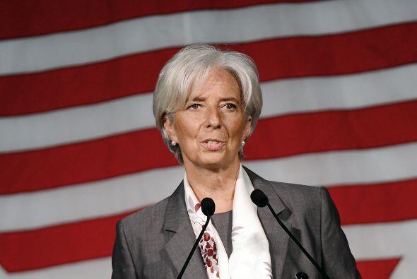 FMI- Christine Lagarde, Directora Gerente del Fondo Monetario Internacio...